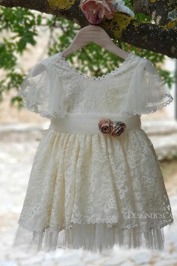ffb1691b9bff Ρούχα βάπτισης designerscat - Βαπτιστικό φόρεμα