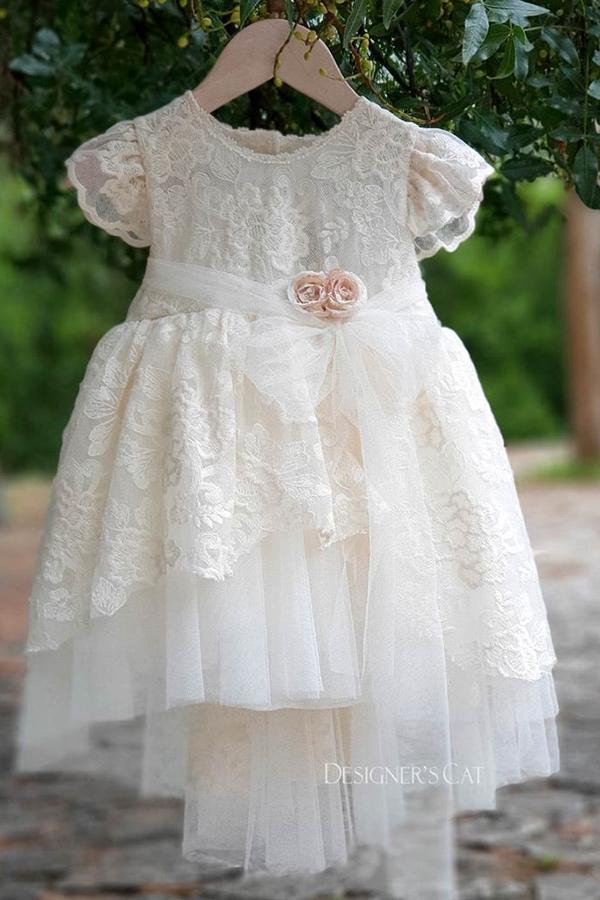 f9001872685c Ρούχα βάπτισης designerscat - Βαπτιστικό φόρεμα