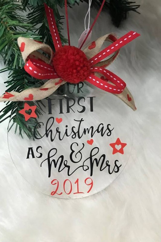 Γούρι  Our first Christmas as Mr & Mrs