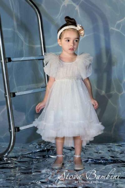 Βαπτιστικά ρούχα για κορίτσια Stova Bambini G2-21