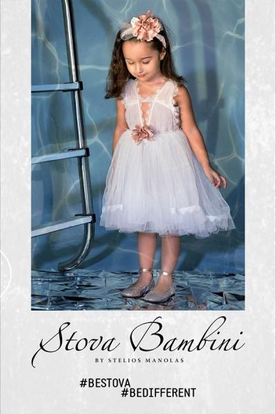 Βαπτιστικά ρούχα για κορίτσια Stova Bambini G13-21